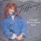 """Tiffany - I Think We're Alone Now - UK 7"""" Single"""