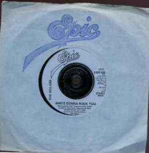"The Nolans - Who's Gonna Rock You - UK 7"" Single"