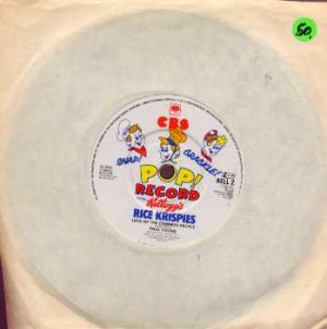 "Paul Young / KC & The Sunshine Band - Kelloggs Promo  Single - UK 7"" Single"