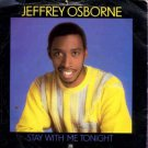 "Jeffrey Osborne - Stay With Me Tonight - UK 7"" Single"