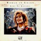 """Kiri Te Kanawa - World In Union - UK 7"""" Single"""