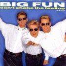 """Big Fun - Can't Shake The Feeling - UK 7"""" Single"""