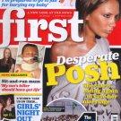 FIRST Magazine 2006 , Posh Spice, Kim Woodburn