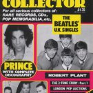 RECORD COLLECTOR Magazine Oct 1989 No 122 PRINCE, THE BEATLES, ROBERT PLANT