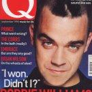 Q Magazine Sept 1998 No 144 PRINCE, ROBBIE WILLIAMS