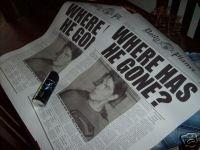 Superman Returns Daily Planet Prop Replica