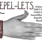Natural DEET-Free insect/mosquito repellent band 2-pack