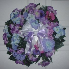 Purple Wreath