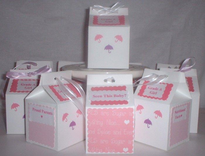 Milk Carton Baby Announcements