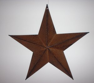 """12"""" Primitive Barn Star"""