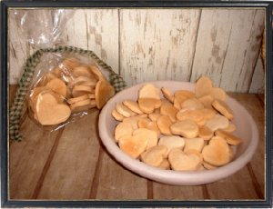 Lg. Heart Dough Ornies