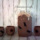 Grunged Mason Jar