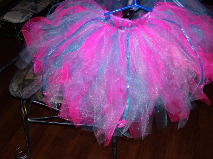 Hot Pink/Shocking Blue Tutu