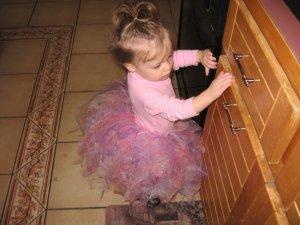 princess in a tutu