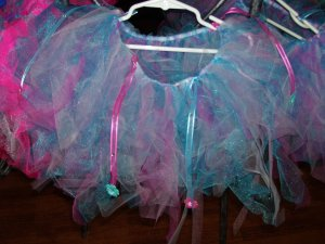 blue/pink tutu