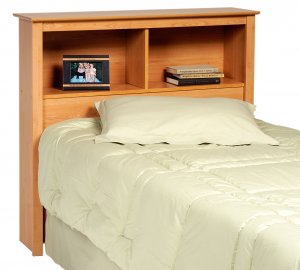 SONOMA BLACK HEADBOARD FOR TWIN MATES BED PREPAC