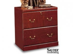 CHERRY LATERIAL FILE CABINET