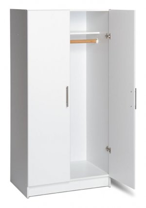 32 INCH WIDE WARDROBE CABINET OR STORAGE CLOSET