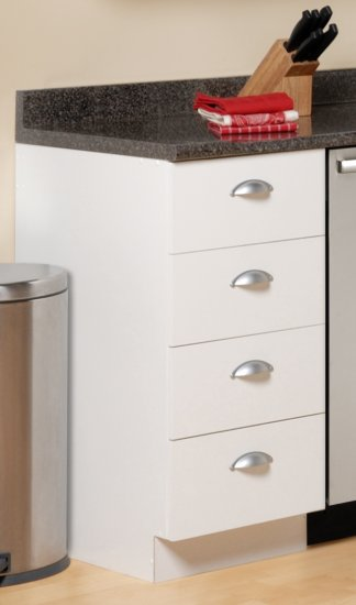18 INCH 4 DRAWER KITCHEN BASE CABINET CLASSIC COLLECTION ...