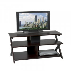 48inch SOLID WOOD FLAT PLANEL TV STAND ESPRESSO