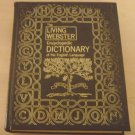 (vintage) The Living Webster Encyclopedic Dictionary of the English Language, 1st Edition (1971)