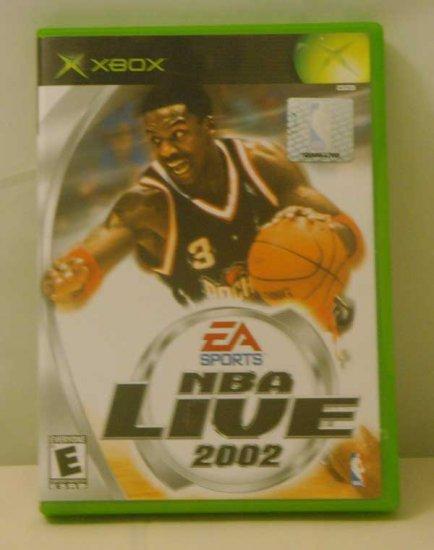 NBA Live 2002 by EA Sports (XBOX)