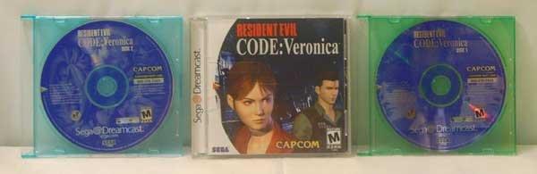 Resident Evil - CODE: Veronica (Sega Dreamcast)