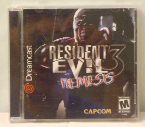 Resident Evil 3 Nemesis by Capcom (Sega Dreamcast)