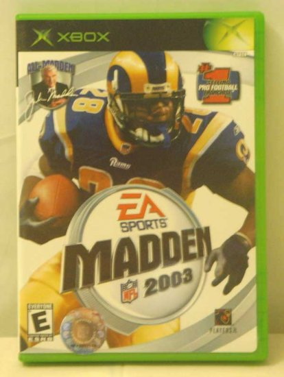 EA Sports Madden 2003 (XBOX)