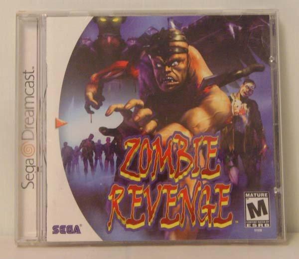 Zombie Revenge (Sega Dreamcast)