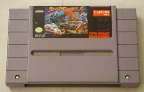 Street Fighter II (SNES)