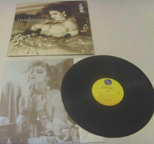 Madonna:  Like a Virgin (LP)