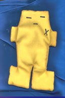 Yellow evil/hexes & friendship removal Yellow Voodoo doll