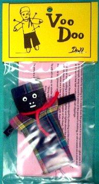 """Female Voodoo Doll (3"""")"""