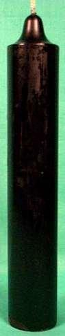 """Pillar 9""""x 1.5"""" Black"""