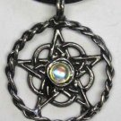 Celtic Pentagram With Crystal