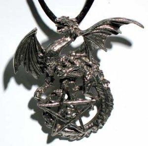 Draco Dragon Pentagram
