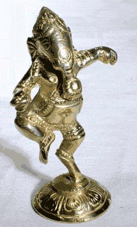 Ganesh, Statue
