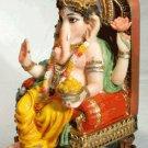 Ganesh Throned