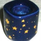Candle Holder: Blue Star 1/2""