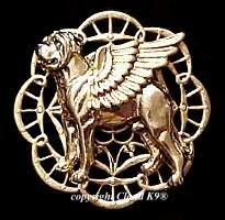 Mastiff Guardian Angel Dog Pin  Bullmastiff Angel Dog