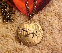 German Shorthaired Pointer Photo Locket Necklace ...Jewelry for Dog Lovers