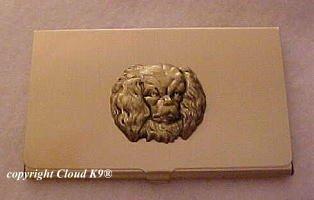 Cavalier King Charles Spaniel Business Card Case ( Blenheim Spaniel )
