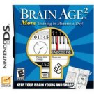 New Brain Age 2 game for Nintendo DS