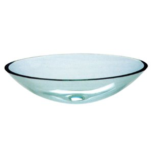 The Purity (Clear) Tempered Glass Vessel Sink