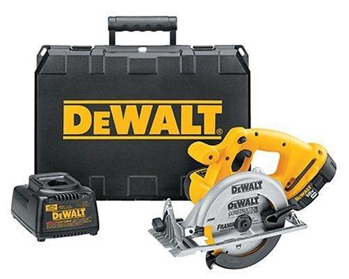 "DC390K Dewalt 6½"" 18 volt Cordless Saw Kit"
