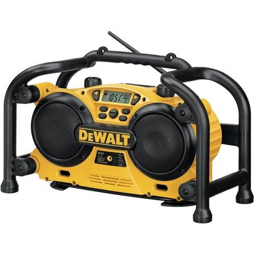 DC011 Dewalt Heavy-Duty Worksite Radio/Charger