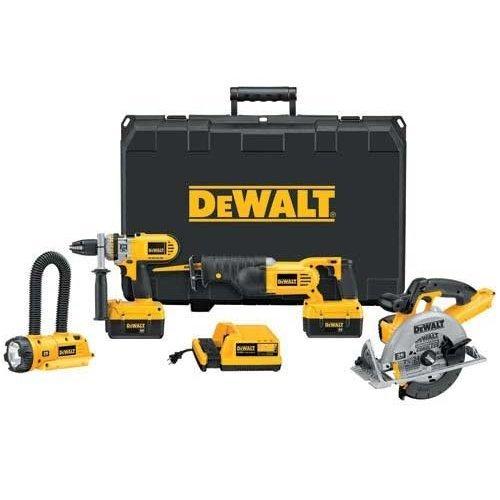 DCX6401 Dewalt 36v 4 Tool Combo Kit
