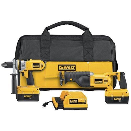 DCX6210 36v Dewalt Drill & Reciprocating Saw Combo Kit