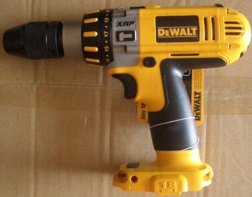 "DC925 Dewalt ½"" 18 volt Cordless HammerDrill  NANO  Design"